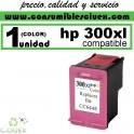 CARTUCHO DE TINTA HP 300XL COLOR COMPATIBLE /  REMANUFACTURADO