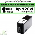 HP 920 XL NEGRO CARTUCHO COMPATIBLE/REMANUFACTURADO
