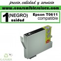 CARTUCHO COMPATIBLE EPSON T0611