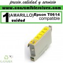 CARTUCHO COMPATIBLE EPSON T0614