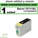 EPSON COMPATIBLE 27XL / T2711 NEGRO