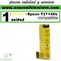 EPSON COMPATIBLE 27XL / T2714 AMARILLO