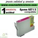 CARTUCHO DE TINTA EPSON COMPATIBLE T0713 MAGENTA