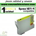 CARTUCHO DE TINTA EPSON COMPATIBLE T0714 AMARILLO
