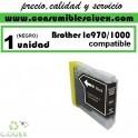 BROTHER LC970 - LC1000 NEGRO CARTUCHO DE TINTA COMPATIBLE(Calidad,Precio y Servicio)