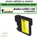 BROTHER LC980 AMARILLO CARTUCHO DE TINTA COMPATIBLE(Calidad,Precio y Servicio)
