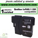 BROTHER LC980 NEGRO CARTUCHO DE TINTA COMPATIBLE(Calidad,Precio y Servicio)