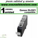 CARTUCHO COMPATIBLE CANON CLI-521 NEGRO(Calidad,Precio y Servicio)