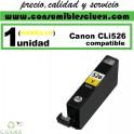 CARTUCHO COMPATIBLE CANON CLI-526 AMARILLO(Calidad,Precio y Servicio)