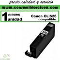 CARTUCHO COMPATIBLE CANON CLI-526 NEGRO(Calidad,Precio y Servicio)