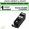 CARTUCHO COMPATIBLE CANON CLI-525 NEGRO(Calidad,Precio y Servicio)