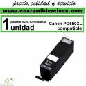 CARTUCHO COMPATIBLE CANON PG-550XL NEGRO ALTA CAPACIDAD(Calidad,Precio y Servicio)