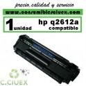 TONER COMPATIBLE HP Q2612A / 12A