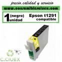 CARTUCHO COMPATIBLE EPSON T1291 NEGRO
