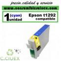 CARTUCHO COMPATIBLE EPSON T1292 CYAN