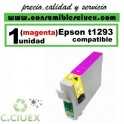 CARTUCHO COMPATIBLE EPSON T1293 MAGENTA