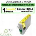 CARTUCHO COMPATIBLE EPSON T1294 AMARILLO