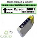 CARTUCHO COMPATIBLE EPSON T0801