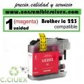 CARTUCHO TINTA MAGENTA LC223