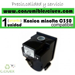 KONIKA MINOLTA BIZHUB C350/C351/C450 AMARILLO CARTUCHO DE TONER GENERICO 4053-403/TN310Y
