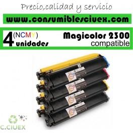 PACK 4 CARTUCHOS COMPATIBLES KONIKA 2300 BK/C/Y/M A ELEGIR COLOR