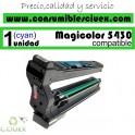 KONIKA MINOLTA MAGICOLOR 5430DL/5450 CYAN CARTUCHO DE TONER GENERICO 4539432