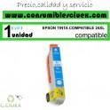 EPSON TINTA COMPATIBLE 24XL CYAN (T2432)