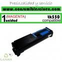 TONER MAGENTA KYOCERA TK 550 COMPATIBLE CON KYOCERA FS-C5200DN