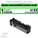 TONER CYAN XEROX PHASER 6125 COMPATIBLE