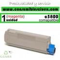 TONER MAGENTA OKI C5800/C5900 COMPATIBLE