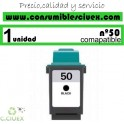 LEXMARK Nº 50 (25ML.) CARTUCHO COMPATIBLE