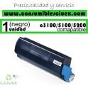 TONER NEGRO OKI C3100/C5100/C5200 COMPATIBLE
