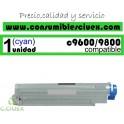 TONER CYAN OKI C9600/C9800 COMPATIBLE