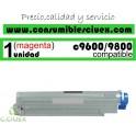 TONER MAGENTA OKI C9600/C9800 COMPATIBLE