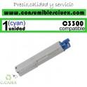 TONER OKI CYAN C3300/C3400/C3450/C3530/C3600 COMPATIBLE
