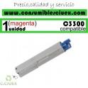 TONER OKI MAGENTA C3300/C3400/C3450/C3530/C3600 COMPATIBLE