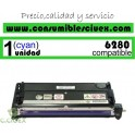 TONER CYAN XEROX PHASER 6280 COMPATIBLE