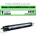 TONER CYAN XEROX PHASER 6250 COMPATIBLE