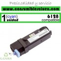 TONER CYAN XEROX PHASER 6128 COMPATIBLE