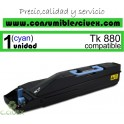 KYOCERA TK880 C TONER COMPATIBLE CYAN