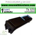 KYOCERA TK570 C CYAN TONER COMPATIBLE