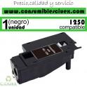TONER NEGRO COMPATIBLE DELL 1250C - 1350CNW - 1355N - 1355CNW DE ALTA CAPACIDAD (2000 PAG)