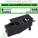 TONER CYAN COMPATIBLE DELL 1250C - 1350CNW - 1355N - 1355CNW DE ALTA CAPACIDAD (2000 PAG)