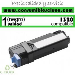 TONER NEGRO DELL 1320C / 2130CN / 2135CN COMPATIBLE, SUSTITUYE AL TONER ORIGINAL D2130