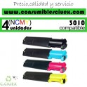 PACK 4  CARTUCHOS COMPATIBLES DELL 3010 A ELEGIR COLOR
