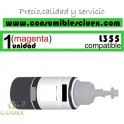BOTELLA TINTA cyan COMPATIBLE L355