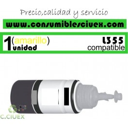 BOTELLA TINTA AMARILLO COMPATIBLE T6644