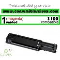 TONER MAGENTA DELL 3100 COMPATIBLE