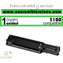 TONER CYAN DELL 3100 COMPATIBLE