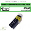 CARTUCHO COMPATIBLE NEGRO LEXMARK Nº 100/105/108 XL